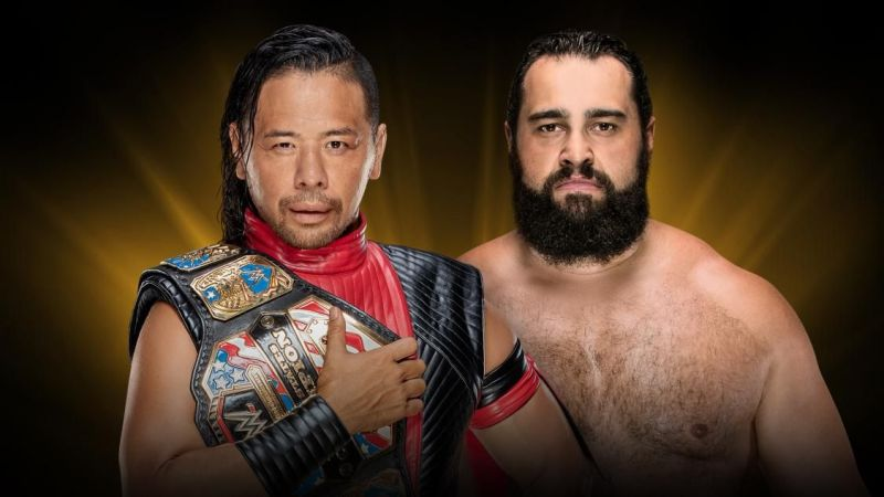 The United States title match was added last minute