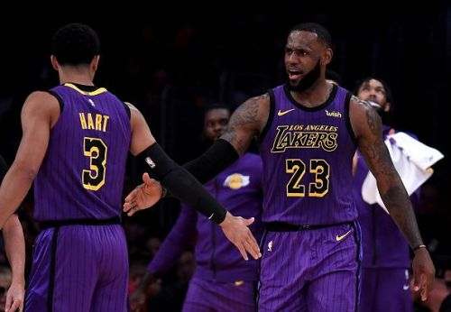 LeBron James is already proving to be a hit in LA