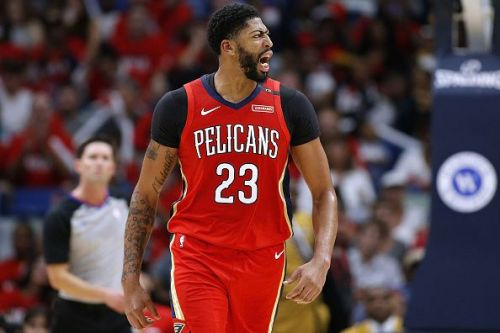 Anthony Davis has spent his entire career with the New Orleans Pelicans