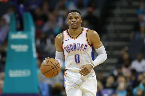 Russell Westbrook recently returned for the Oklahoma City Thunder