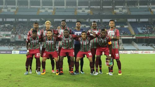 Mohun Bagan is yet to win a match in this year's I-League