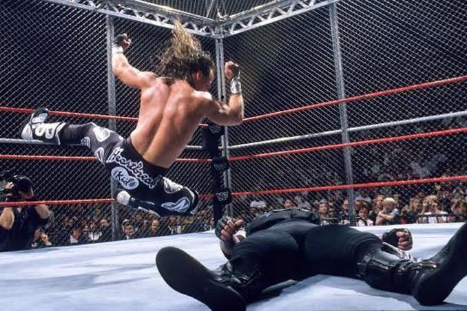 undertaker vs shawn michaels
