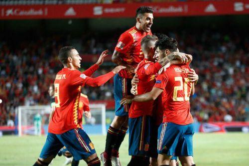 Spain 6-0 Croatia- UEFA Nations League.