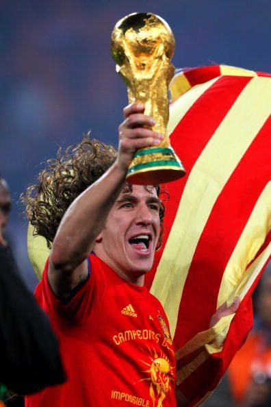 Puyol played a vital role to help Spain to the 2010 World Cup