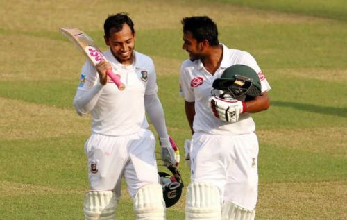 Mushfiqur Rahim coming back after hitting his second double ton in Test cricket