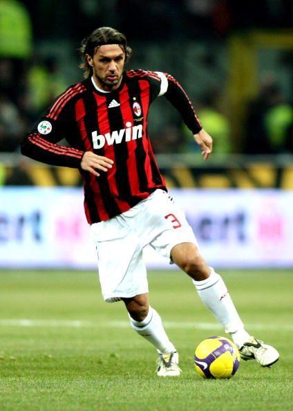 Italy and AC Milan defender Paolo Maldini