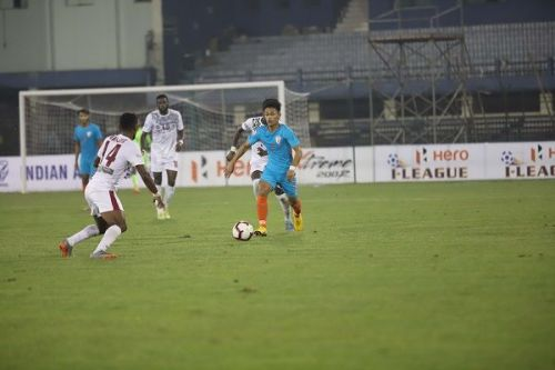 Indian Arrows created enough chances but they didn't have a prolific striker to convert
