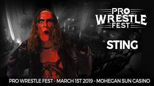 Pro Wrestle Fest announces Sting as their co-headliner the largest nWo reunion ever!