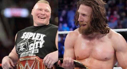 We take a closer look at why Brock Lesnar (left) has been surpassed by Daniel Bryan (right) as one of the true modern-day greats in pro-wrestling
