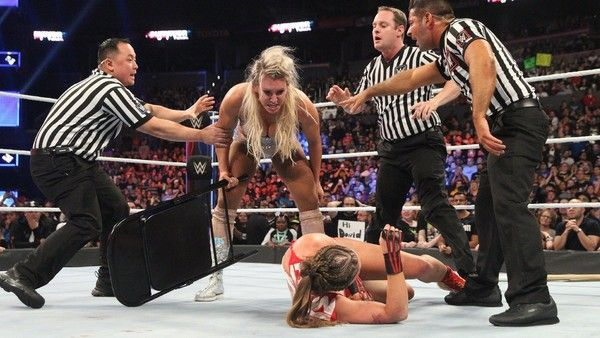 Charlotte had a new victim from Raw at Survivor Series 2018