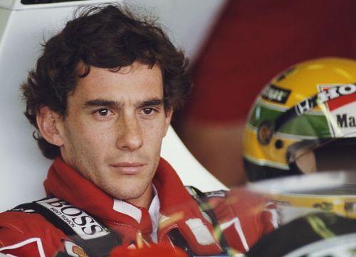 Three-time Formula 1 champion: Ayrton Senna