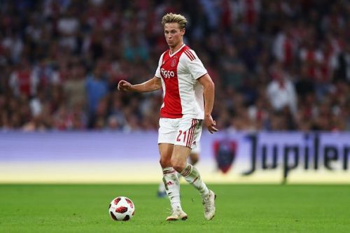 Outrageously good on the ball, de Jong is the textbook Guardiola midfielder