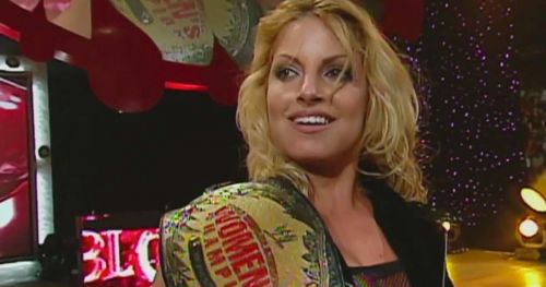 Trish Stratus is currently tied with Charlotte Flair for the most number of women's title reigns