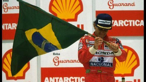 Senna picked up the win