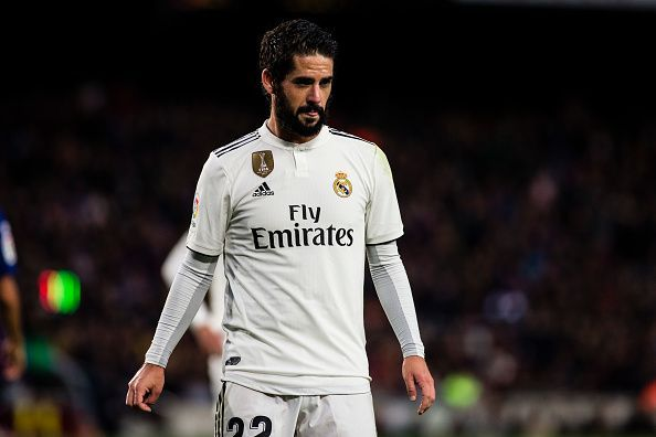 Troubled times for Real Madrid superstar Isco