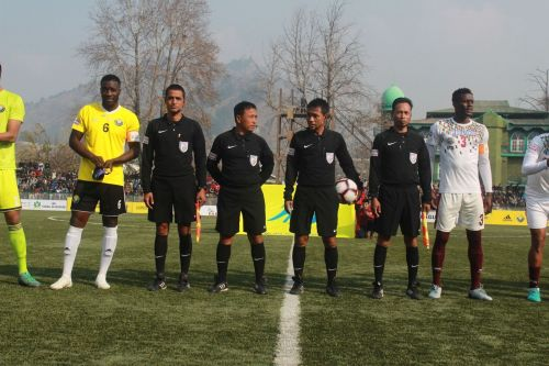 Real Kashmir FC couldn't capitalise on their chances