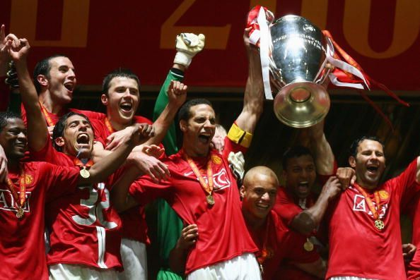 Manchester United won the UEFA Champions League in 2008