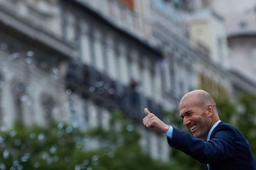 Zidane's Real Madrid dominated Europe