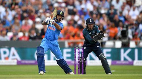 Dhawan has a fair T20 and ODI record
