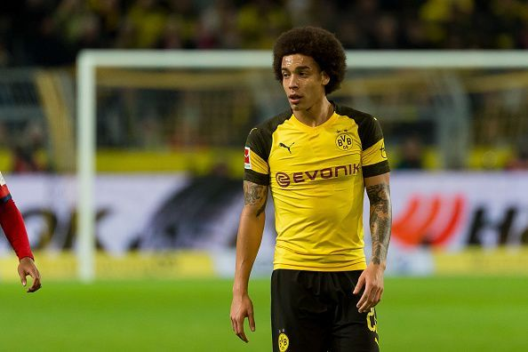 Axel Witsel has been a key figure at Borussia Dortmund this season