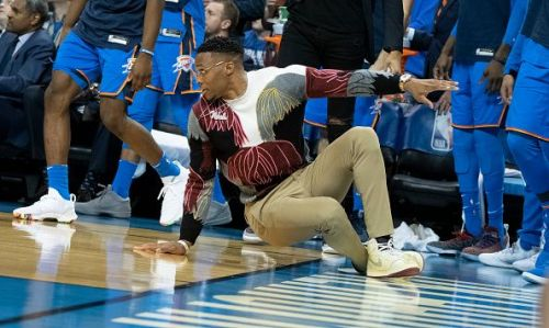 Westbrook has missed a large part of the season through injury