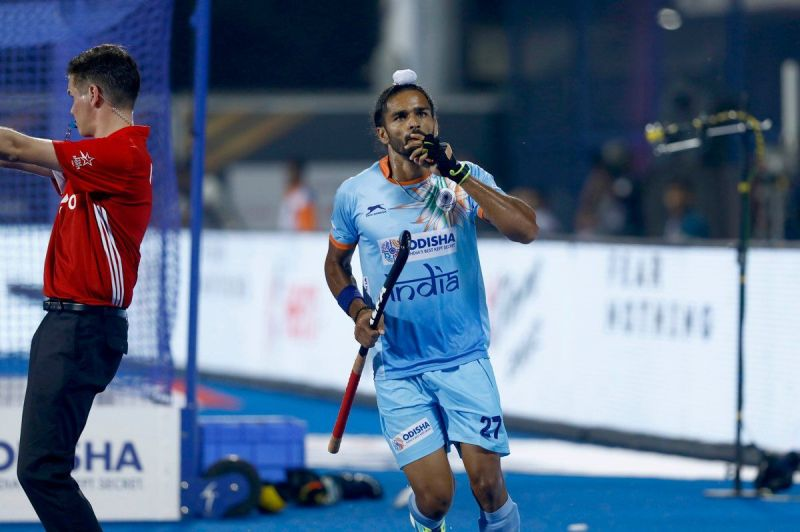 Akashdeep - the link-man of the Indian team