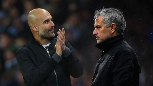 Pep Guardiola's Manchester City host Jose Mourinho's Manchester United on Sunday