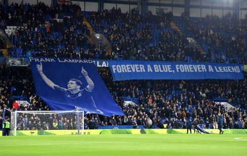 Chelsea pay homage to one of their greatest ever