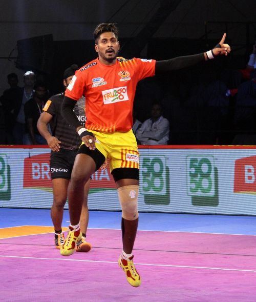 Prapanjan's 10 points helped Gujarat pull away from U Mumba