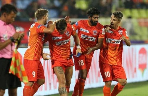 FC Pune City will look for their first win against struggling Chennaiyin FC (Image: ISL)
