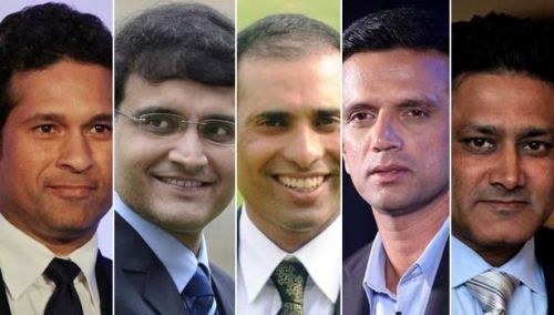 Indian cricket has seen many legends take the field in the last 80 years