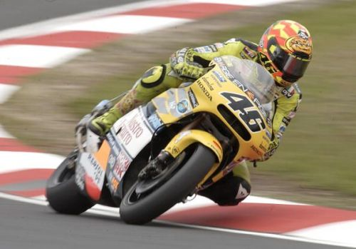 Valentino Rossi had an exhilarating battle with Max Biaggi