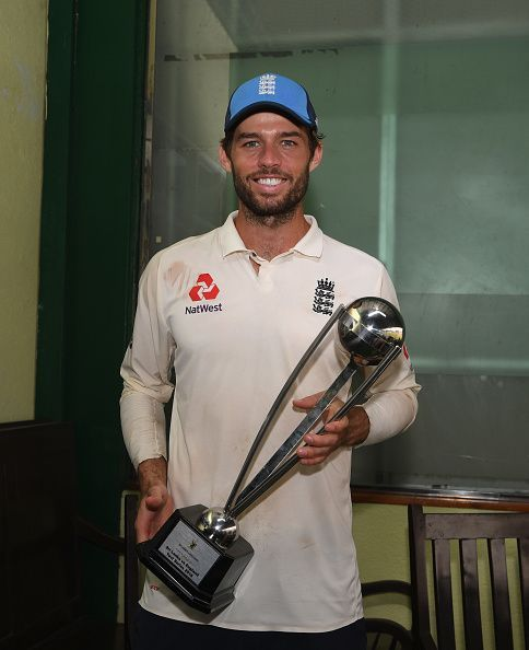 Ben Foakes was adjudged Man of the Series