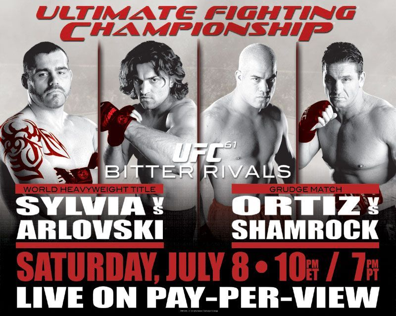 UFC 61: What happened in the b...