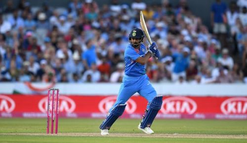 KL Rahul made his ODI debut for India in 2016
