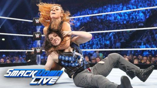 The SD Live Women's Champion defeated Nikki Cross in the UK special episode of 2018