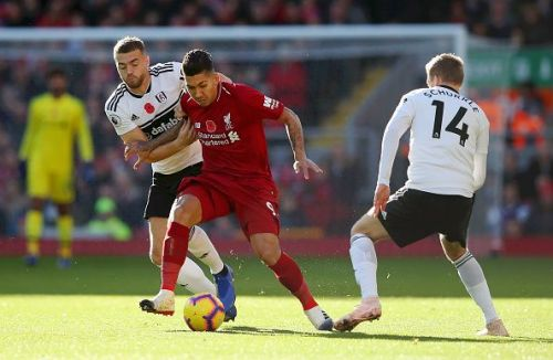 Roberto Firmino (M), Liverpool FC v Fulham FC - Premier League 2018/19