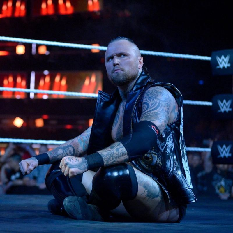 Former NXT Champion - Aleister Black