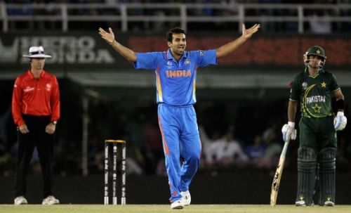 Zaheer was India's go-to bowler in the 2011 World Cup