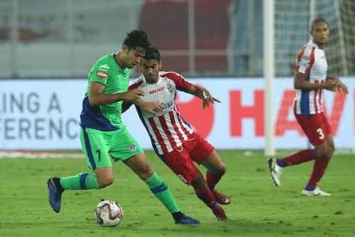 Miku was on the scoresheet for Bengaluru as ATK recorded another home defeat [Image: ISL]