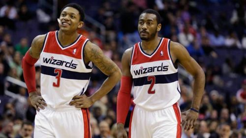Wizards Bradley Beal and John Wall