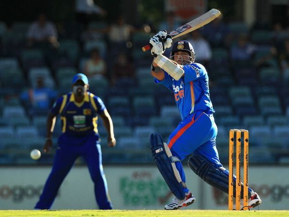 Sachin Tendulkar never batted in the middle order in Dhoni