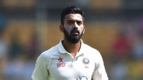 KL Rahul made his test debut for India in the 3rd test of the series