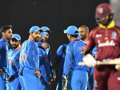 Image result for India vs West Indies 5th ODI windies batting