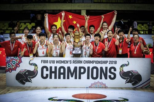 China won their 16th title overall (Image Courtesy: FIBA)