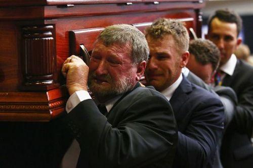 Phillip Hughes Funeral