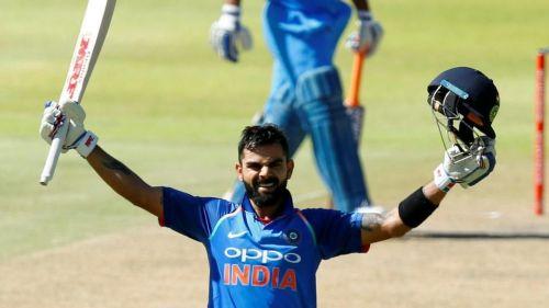 * With cramps, Captain Kohli scored an unbeaten 160*