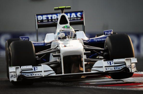 The 2009 Abu Dhabi Grand Prix was BMW Sauber