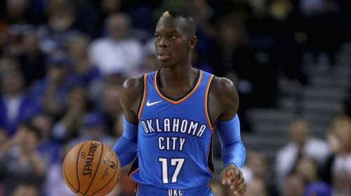 Dennis Schroder was acquired in the Carmelo Anthony trade