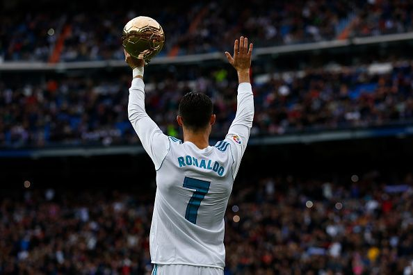 Ronaldo has the opportunity to become the first man to win 6 Ballon d